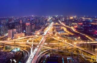 四惠桥是北京四环路、建国路-京通快速路、通惠河北路相交处的一座