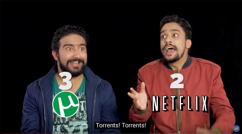 "Netflix登陆之初,订阅用户超过70万的印度搞笑视频团队ScoopWhoop吐槽起印度用户的消费习惯,大肆宣传""Netflix是个什么鬼?"""