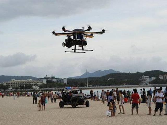 中国无人机市场超越日本 日本应对已开始