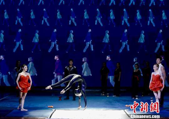 柔术表演 中国杂技团供图