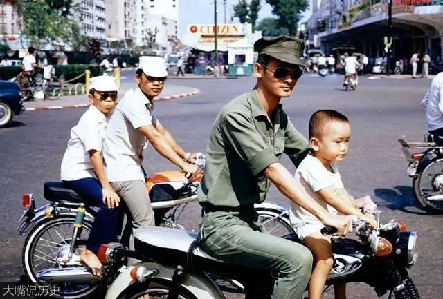 70年代南越西贡彩色老照片 看上去比中国发达