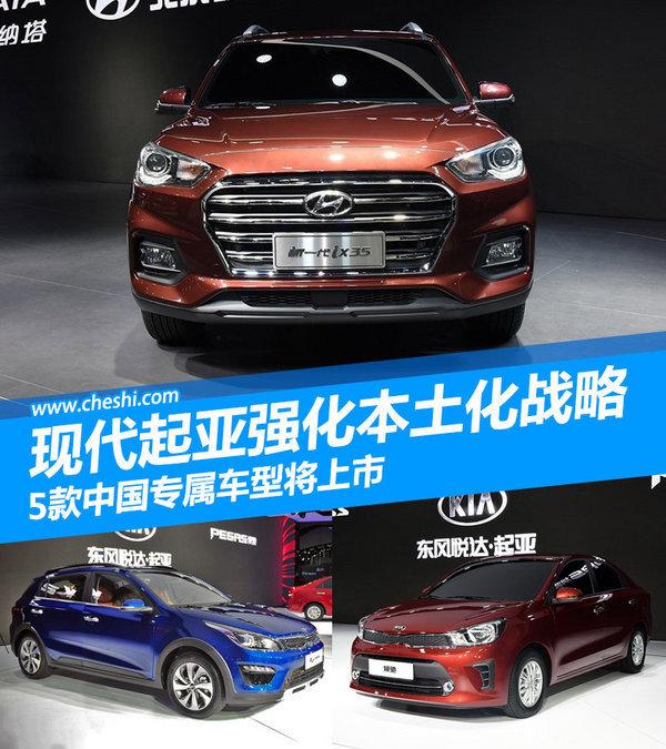 现代起亚强化本土化 5款中国专属车型将上市-图1