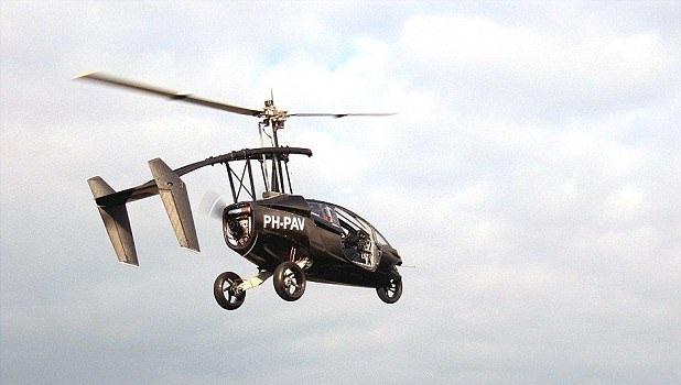 荷兰将推陆空两栖汽车 空中飞行耗完燃料不会掉落插图1