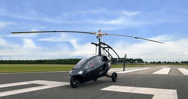 荷兰将推陆空两栖汽车 空中飞行耗完燃料不会掉落插图