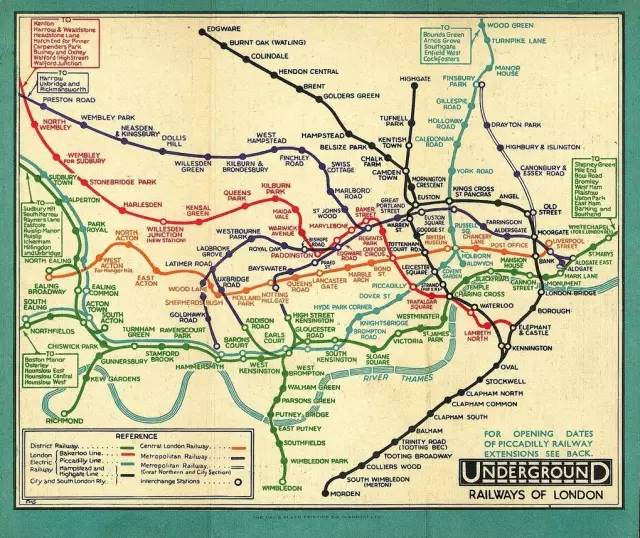 一场惊艳全世界的骗局:原来你每天坐的地铁线路图这样欺骗你的双眼! - 风帆页页 - 风帆页页博客