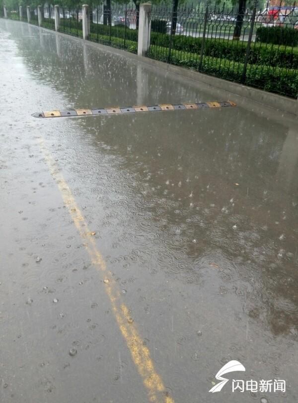 海丽气象吧│山东发雷电黄色预警,全省中到大雨局部大暴雨