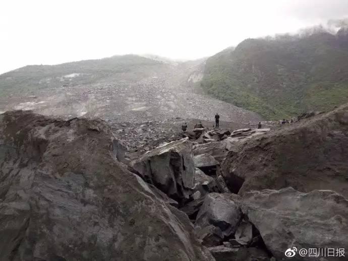 四川茂县山体垮塌40余户100余人被掩埋 整个村子没了!?