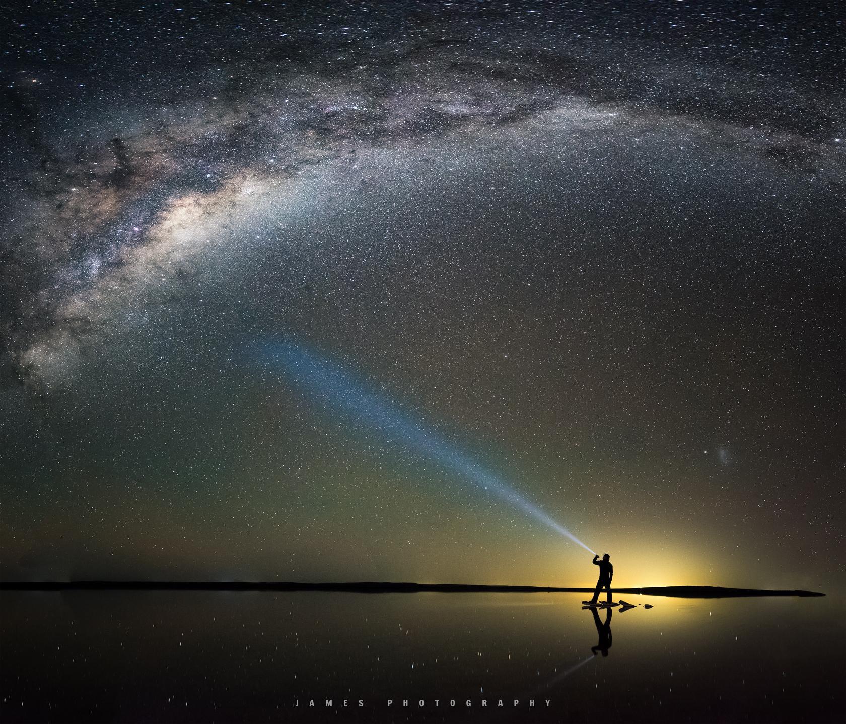 最美银河:我们的征途是星辰大海-澳洲天空之镜