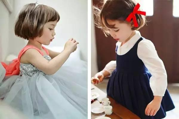 新闻客户端  短发除了可爱风 还可以走公主范哦~ 给孩子带上一个王冠