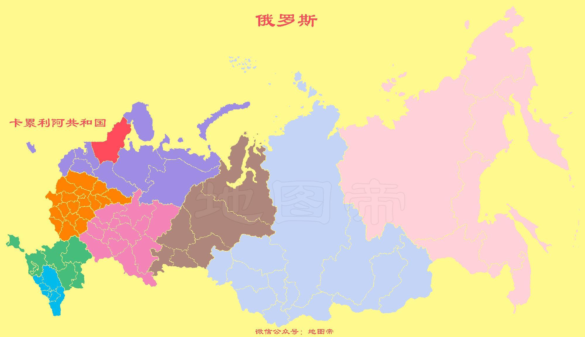 苏联地图 矢量图