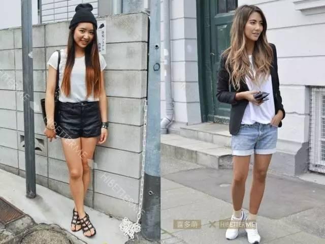 壁纸图片大全大图mj-图片来源:左 MJTrends;右 Fab Fashion Fix-夏天到了,热裤应该怎