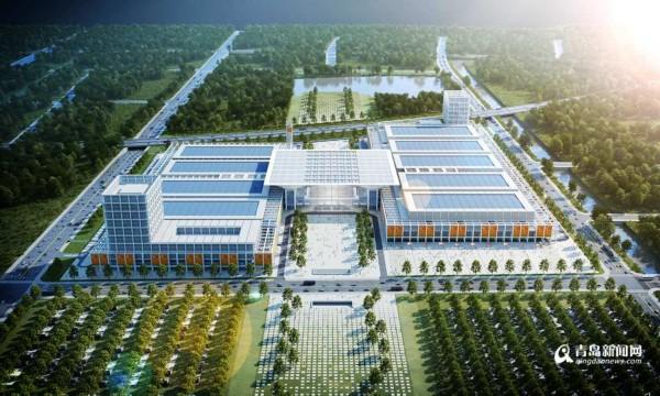 红岛国际会展中心开建 最新效果图发布