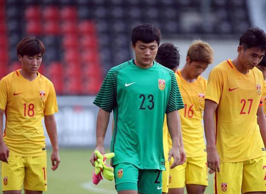 国足U20竟然连德丙球队都踢不过 备战奥运会