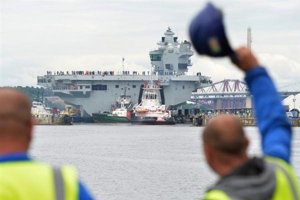 英国狂砸35亿英镑造最大航母:XP系统是最致命漏洞
