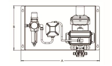 可使用的温度范围在-40℃—60℃之间;仪表压缩空气过滤减压阀的最大图片