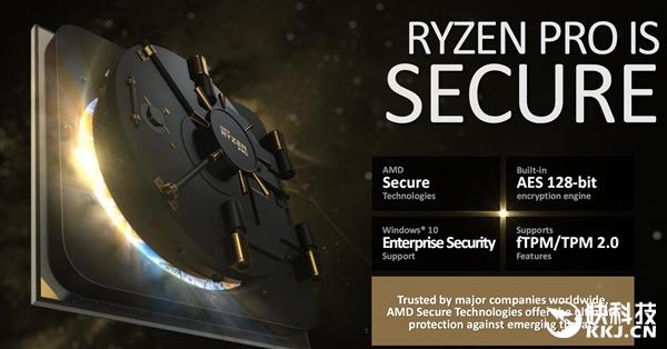 AMD发布商务专用Ryzen Pro:四核四线程 保三年