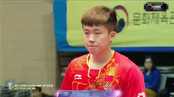 国乒男队接班人3-0横扫韩国 率队斩获4项冠军