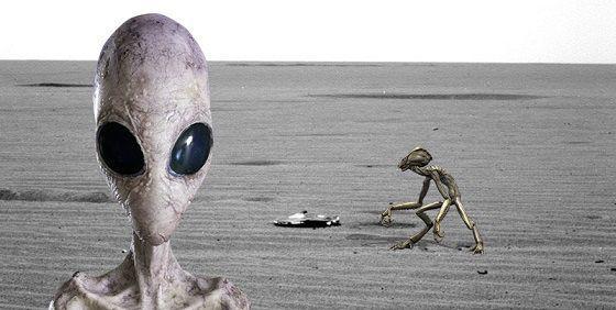 nasa拍到迄今最清楚的外星人照片,使全网络进入疯狂