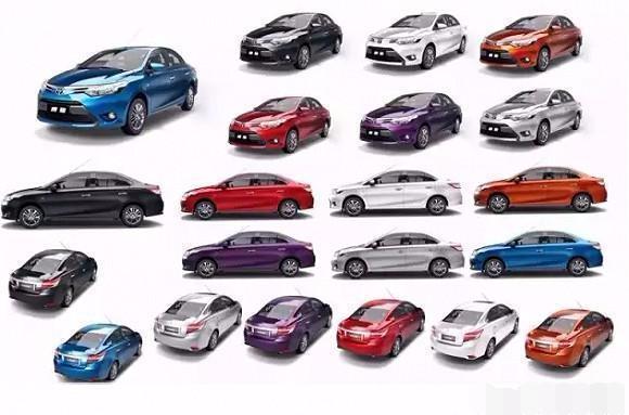 汽车甚么色彩最耐脏、甚么色彩显大气、甚么色彩最宁静?