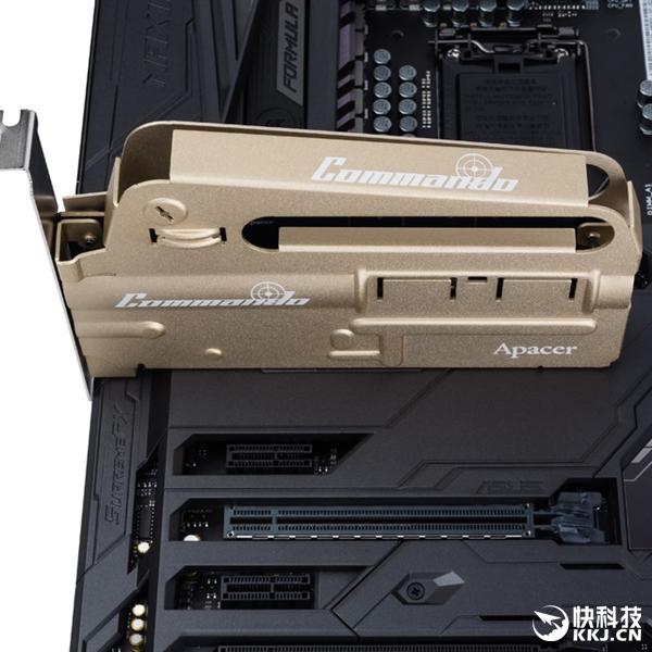 宇瞻新发SSD PT920 Commando:一言不合就突突突