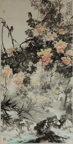 《蒋维青花鸟画集》,《蒋维青中国画作品集》;专著《建筑风景速写解析