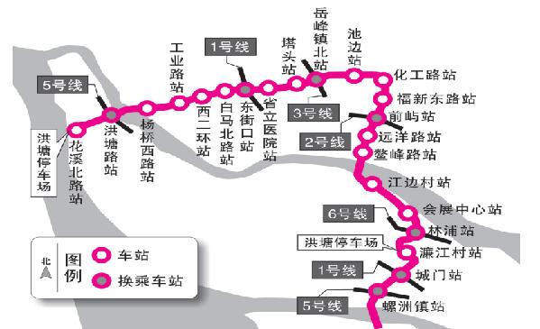福州地铁4号线拟年底动建 22座车站中7座可换乘 - 轨道交通、地铁、高铁 - 轨道交通、磁浮、有轨电车、高铁(重载铁路