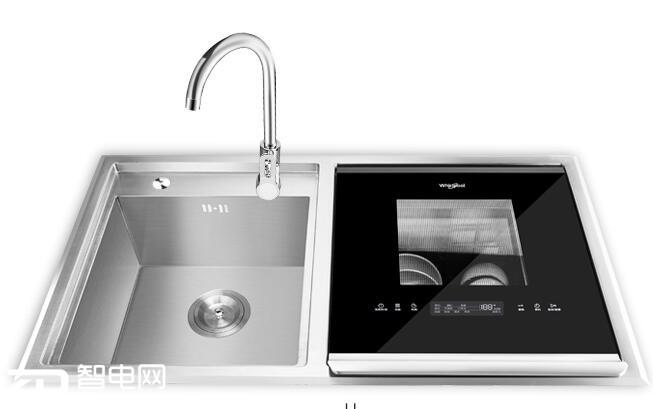 美国惠而浦(whirlpool) 6套全自动嵌入式家用除菌消毒水槽洗碗机图片