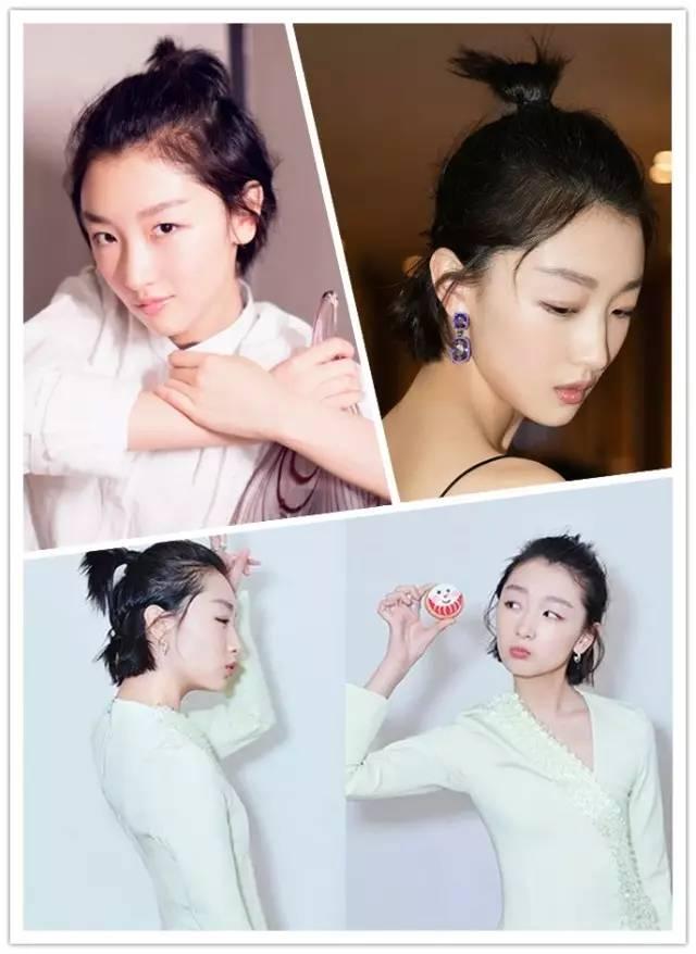 刘诗诗新发型帅气,赵丽颖短发苹果头萌炸,这个夏天你图片