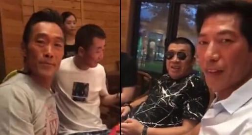 东星乌鸦司徒浩南二十年后再合体,陈浩南却在给山鸡过生日