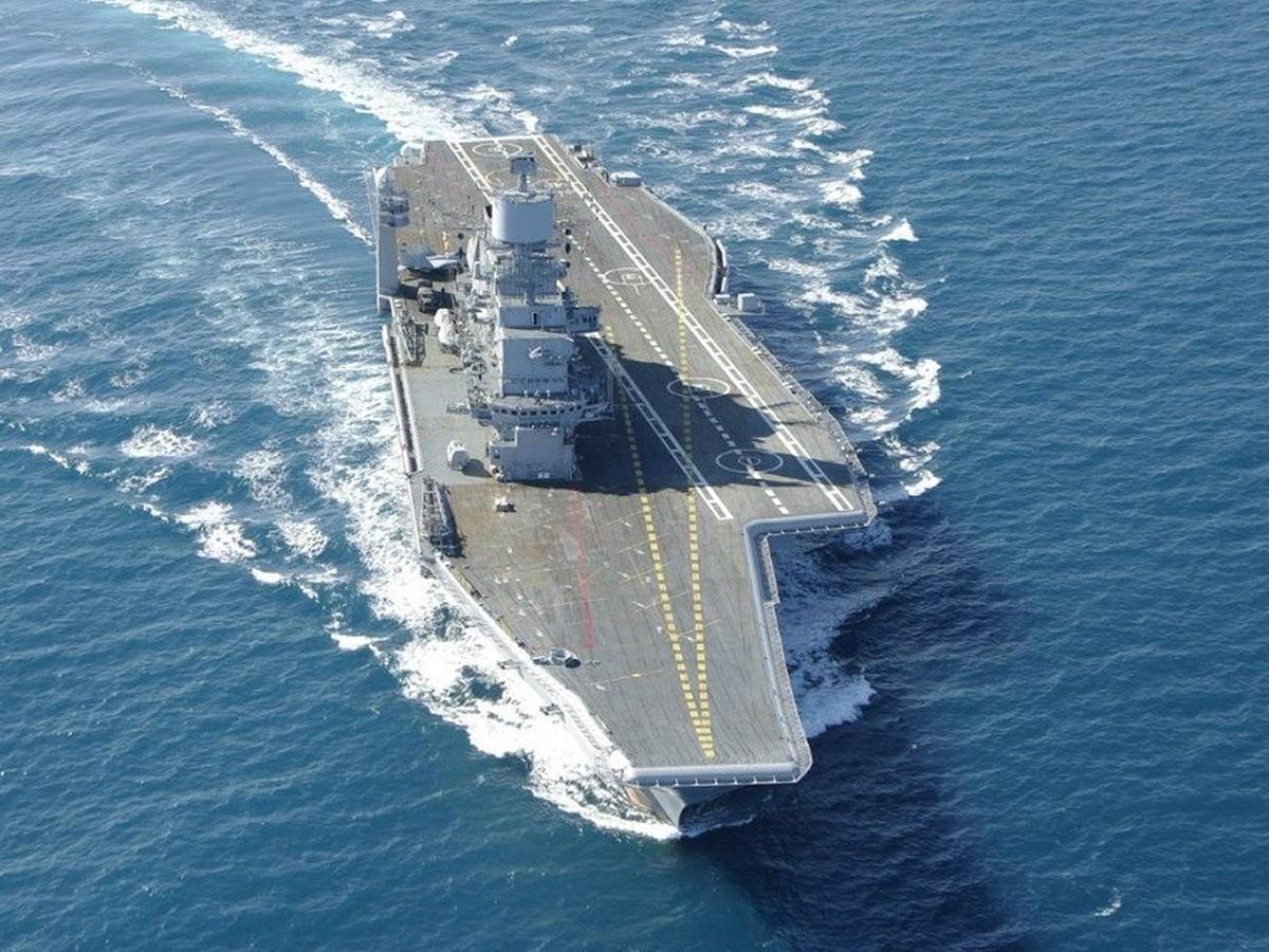 """航空母舰--美日印三国""""全航母""""出动 军演规模空前针对谁?"""