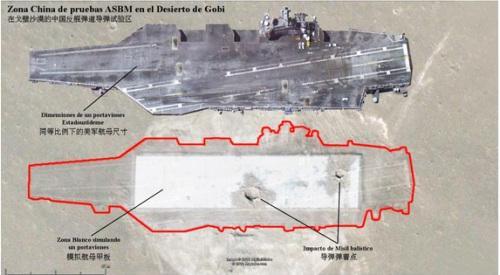 中国实弹打航母两枚贯穿航母甲板?这一战果让美国倒抽一口冷气