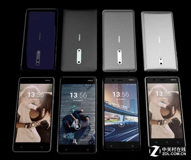 爆料:诺基亚手机有Nokia 2、3、5、6、7、8、9八款