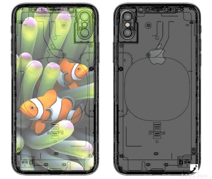 iPhone8X摄像头细节图
