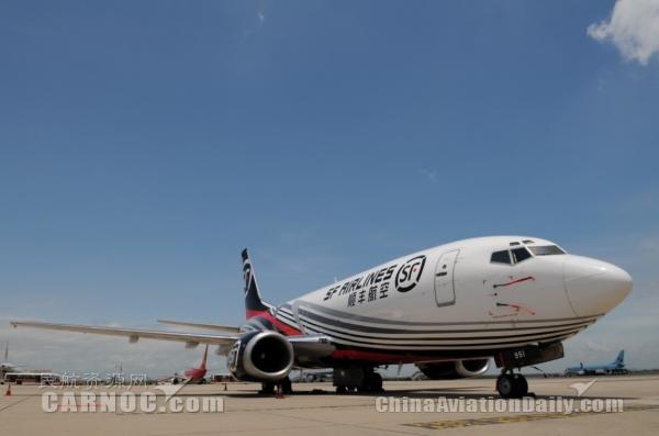 图片 上海波音与顺丰航空签署首份飞机维修协议
