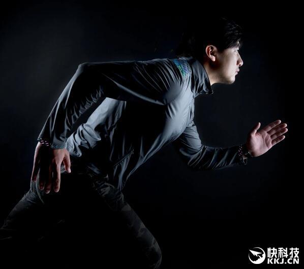 小米众筹90分炫彩防晒风衣开卖:199元夜跑神器