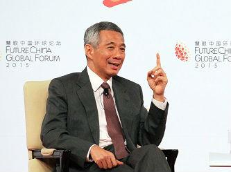"""港媒:新加坡积极支持""""一带一路"""" 中新关系渐回正轨"""