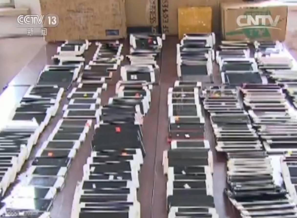 """惊人_ _特大""""盗改销""""手机案告破!被盗手机原来到了这里……"""