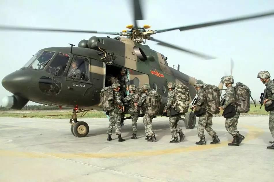 中国直升机数量_中国在青藏高原的绝对优势:武装直升机数量100:0