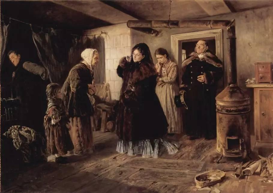 俄罗斯画家 vladimir makovsky 油画作品欣赏图片