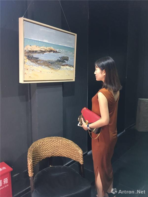 肖育风景油画展在西安开幕 《肖育写生中国》