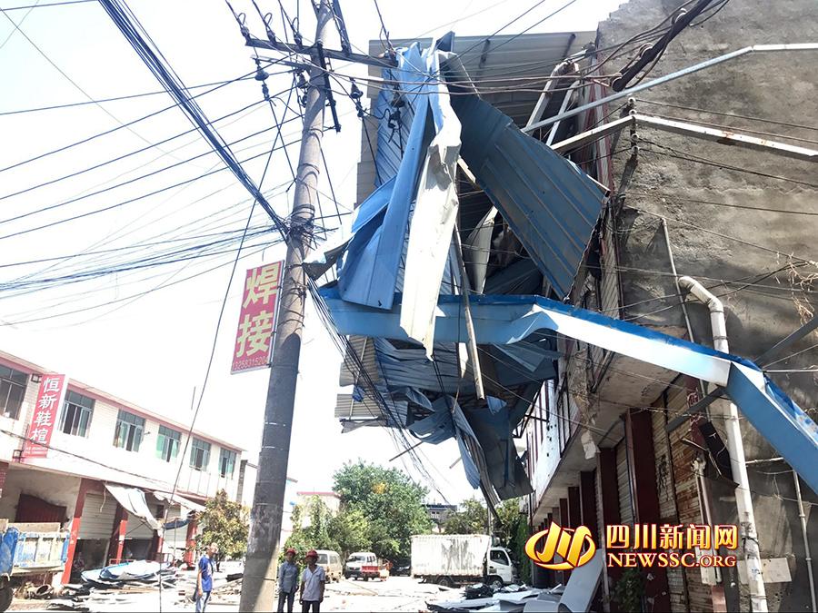 自建房电路安装现场