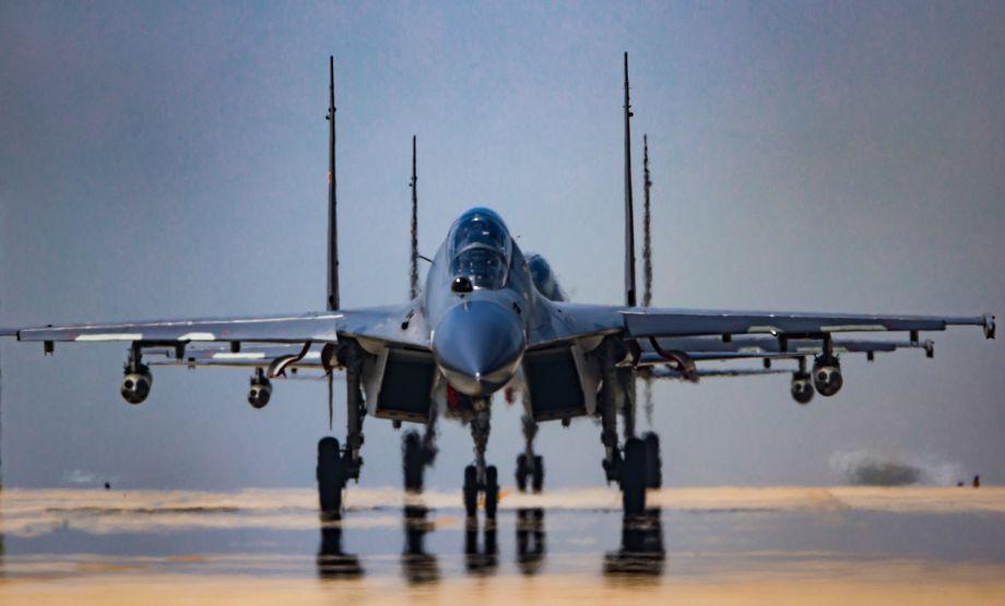 紧锣密鼓!中俄战机集结备战航空飞镖
