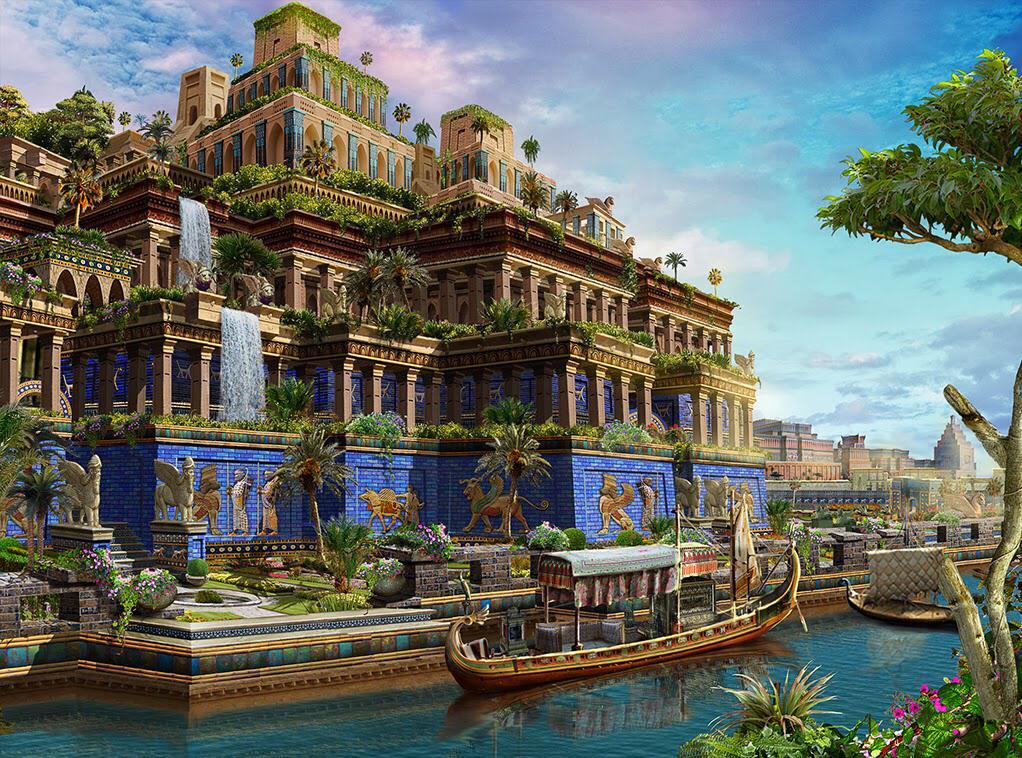 新巴比伦王国留给人类最大的文化遗产,便是一座名为\