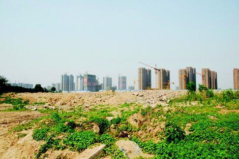 曾经辉煌一时的济南化纤厂,现已高楼林立