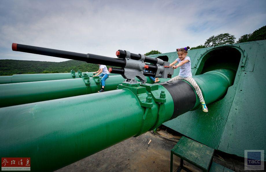 巨炮变乐园!俄海参崴炮台改军事公园