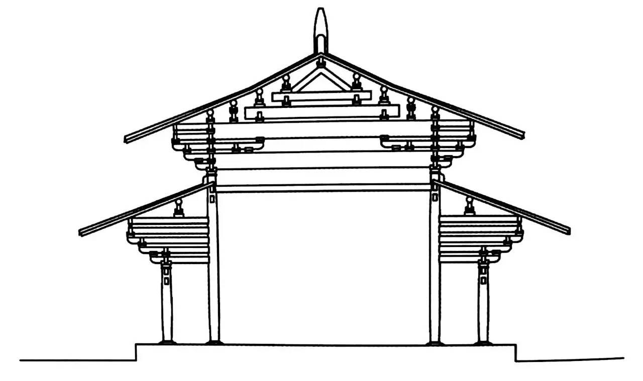 工程图 简笔画 平面图 手绘 线稿 1280_759