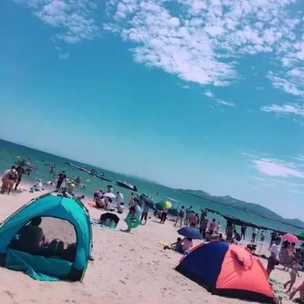 路过养马岛,随手拍生活,留在游客手机中的美景