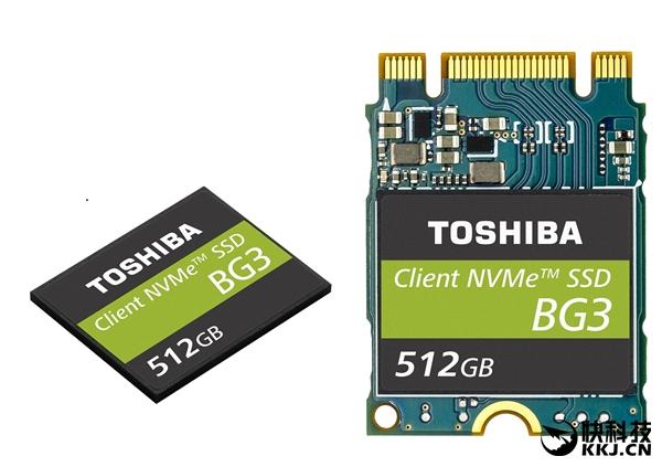 东芝发布第三代单芯片SSD:64层堆叠
