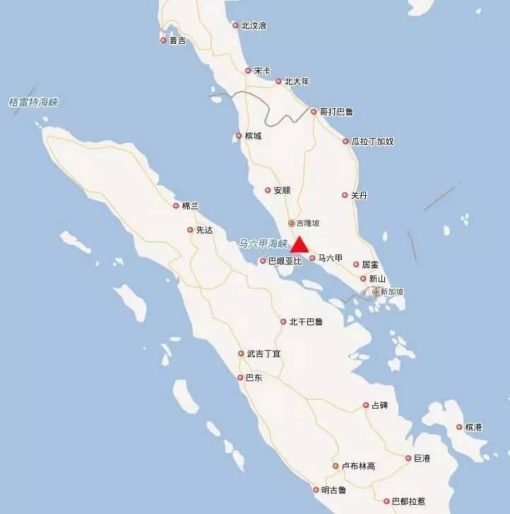 海上丝绸之路--中国在马六甲海峡投下这枚棋子,新加坡开始焦虑——