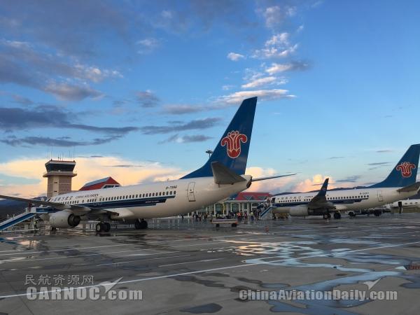 原标题:开航10年 喀纳斯机场首迎波音738飞机[     图:南航738机型